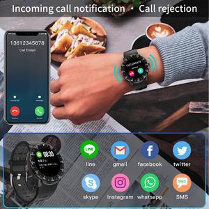 Image 4 - HopoFit Z05 חכם שעון גברים מלא מגע גשש כושר קצב לב צג צמיד עמיד למים IP67 גברים נשים אנדרואיד iOS
