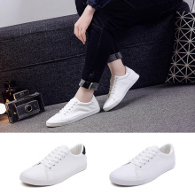 New 2020 White Shoes Men Sneakers Soft Leather Men