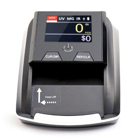 portatil pequeno detector de notas de notas de valor de denominacao contador de moeda falsa