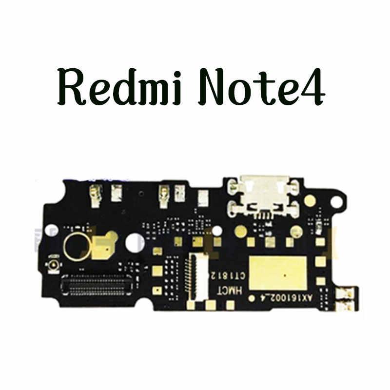 טעינת נמל עבור XiaoMi redmi 4X redmi note 4x redmi note 4 USB Dock טעינת נמל + מיקרופון מיקרופון Moto מודול החלפה