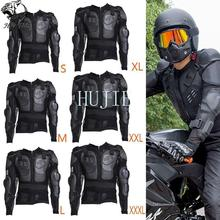 цена на Motorcycle Full Body Armor Jacket Spine Chest Shoulder Protection Riding Gear motorcross  racing suit motocross