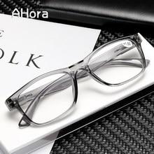 Ahora 2020 moda transparente óculos de leitura ultraleve mulher & homem lente clara presbiopia óculos eyewear + 1.0 + 1.5 + 2.0...+ 4.0