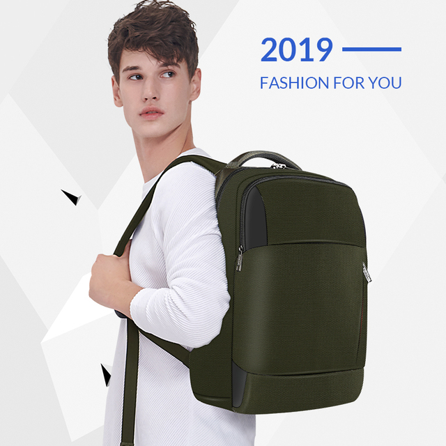 2019 New Fashion RFID Anti Theft Men 15.6 inch Laptop Backpack USB Charging Male Female Waterproof Durable School Bags Mochilas 5