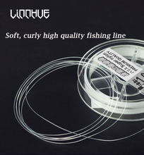 Flying Kowtow Nanometer Fishing Line Sub-Line Resistant To Curl,Soft Strong Pull Competitive Nylon PE Fusion Tackle