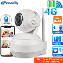 купить 1080P 4G Sim Card Battery IP Camera Wireless Home Security Camera SD Card 2Way Audio Video Surveillance CCTV Network WiFi Camera дешево
