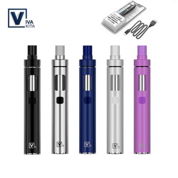 Original Vivakita Solo Pro Kit Vape Pen Kit Cig Solo Coil Head Core 25W 2ML tank Capacity Vaporizer Starter All-In-One Vape Kit цена 2017