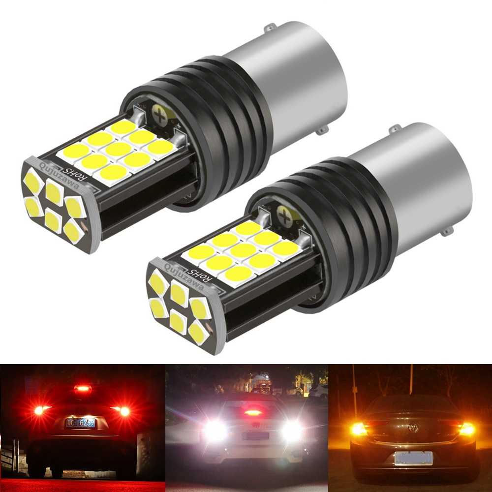 2PCS New 1156 P21W 7506 BA15S R5W R10W Super Bright LED Car Tail Brake Bulb Turn Signals Auto Reverse Lamp Daytime Running Light|Signal Lamp|   - AliExpress