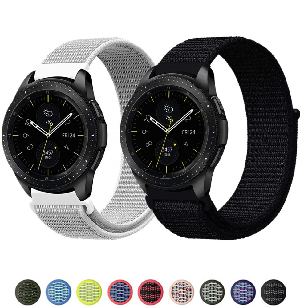Gear S3 Frontier Strap For Samsung Galaxy Watch 46mm 42mm Active 2 Band Amazfit Bip Strap 22mm Watch Band 20mm Bracelet Huami