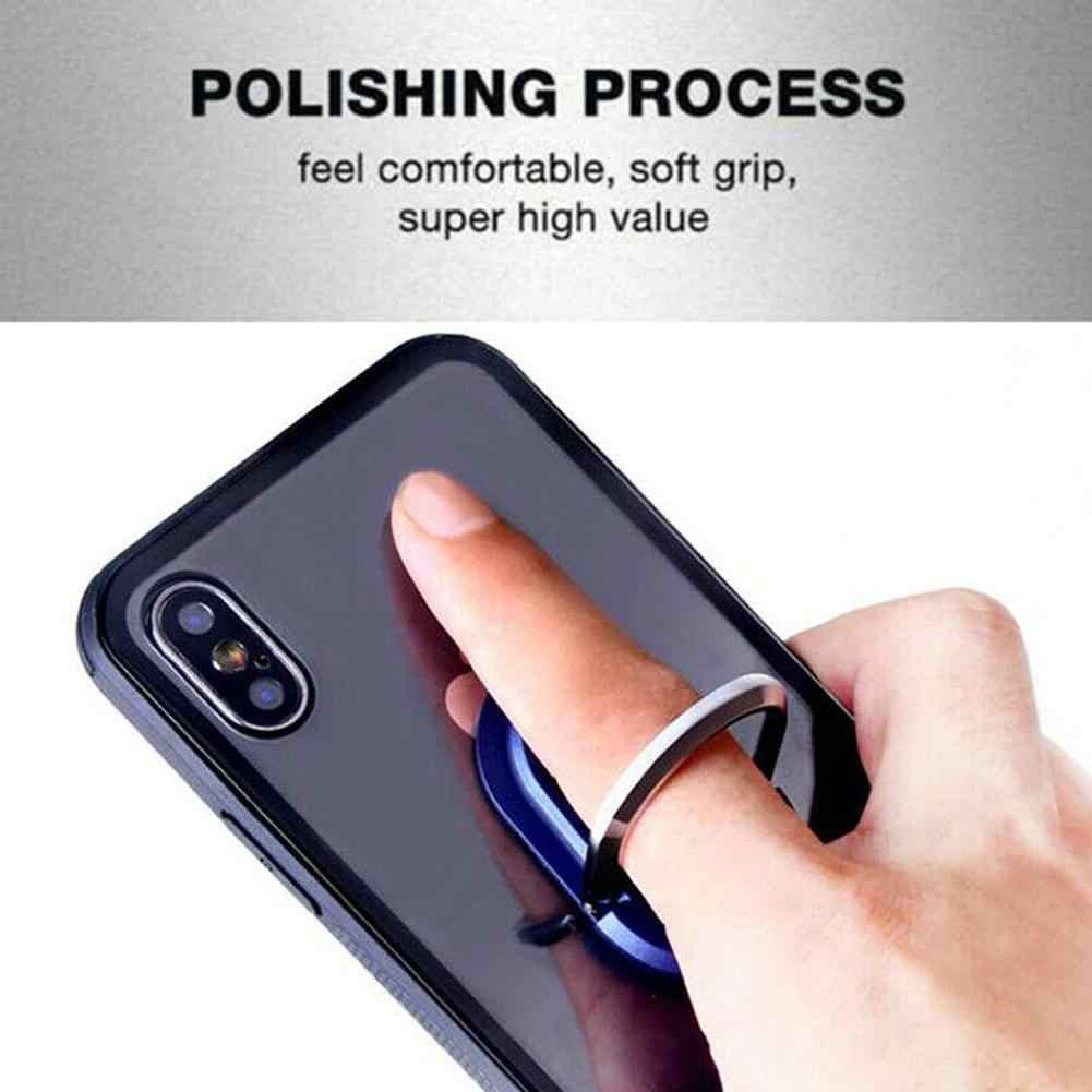 Wielofunkcyjny uchwyt na telefon 360 stopni uchwyt na wylot powietrza samochodu stojak do montażu obrotowy uchwyt na telefon z uchwytem na palec uchwyt samochodowy uniwersalny