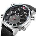 KAT-WACH  мужские спортивные часы  силиконовые  50 метров  водонепроницаемые  с хронографом  военные  мужские часы  светодиодный  с двойным диспле...