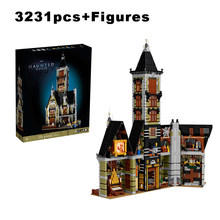 3231pcs Haunted Castle House Building Blocks Fairground Ghost House Collection Fit Model Bricks Toys for Boys Kid Gift Birthday