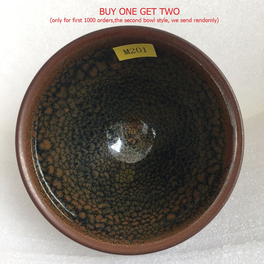 Jianzhan Newest Style Ceramic Cups Song Dynasty Craftsmanship Tenmoku Tea Bowl Friends Gifts Porcelain Cup Tea for Matcha,Coffee image
