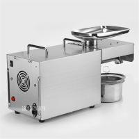 Fully Automatic Household Stainless Steel Oil Press Export Small Family Hot and Cold Oil Press