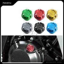 אופנוע מנוע שמן כובע בורג בורג מילוי כיסוי מקרה עבור דוקאטי 899 959 1299 Panigale V4 V4S כל שנה