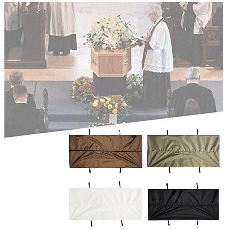 210D Oxford Cloth Cadaver Bag Stretcher Four Handles Shroud Zipper Body Bag Waterproof And Durable