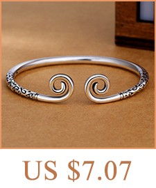 color : 1 CHENTAOCS Silver 925 Jewelry Black Dragon White Fox Bangle Vintage Style Sterling Silver Openings Couple Bracelet Fashion Woman Girl Party
