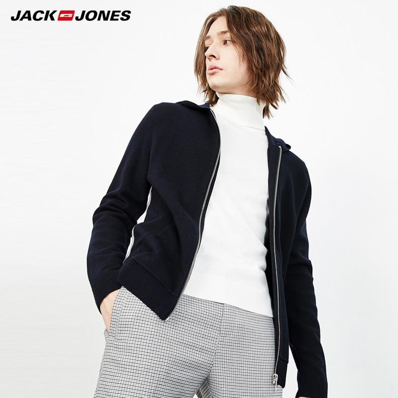 JackJones Women Woolen Hooded Cardigan Knit Sweater  218425509