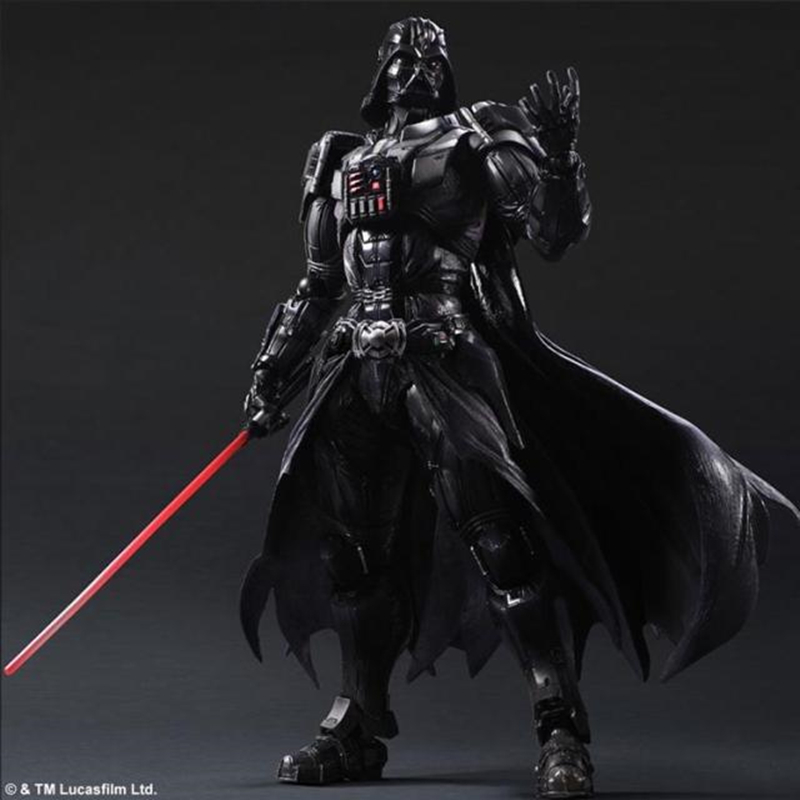 26cm Movie Star Wars Play Art Kai Action Figures PVC Darth Vader Figures  Star Wars Darth Vader Toys Model Doll Gifts for Kids
