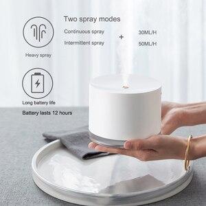 Image 3 - 충전식 Usb 휴대용 공기 가습기 무선 전기 가습기 디퓨저 쿨 안개 제조 업체 밤 램프 정화 홈
