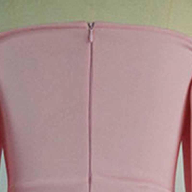 المرأة ماكسي حزب اللباس مثير الوردي قبالة الكتف فانوس الأكمام أنيقة عارية الذراعين احتفال عشاء حزب مساء Bodycon رداء تونك
