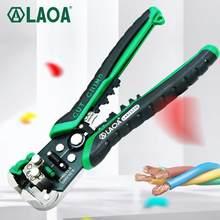 LAOA automatyczne szczypce do zdejmowania izolacji narzędzia przecinak do drutu szczypce elektryczne ściąganie izolacji z kabla narzędzia dla elektryka Crimpping Made in Taiwan