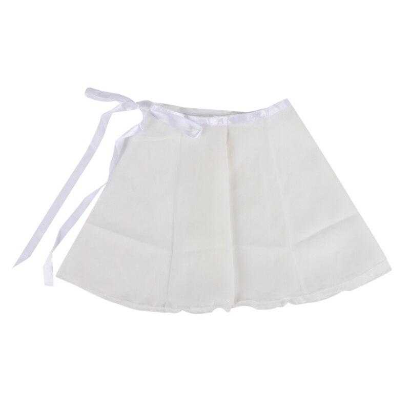 1 Pcs Women Girls Dance Skirt Lace-up Strap Chiffon Hem Apron Dancing Performance Accessoriesfz