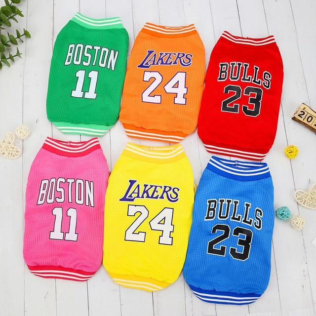 Dog Basketball Jerseys 2