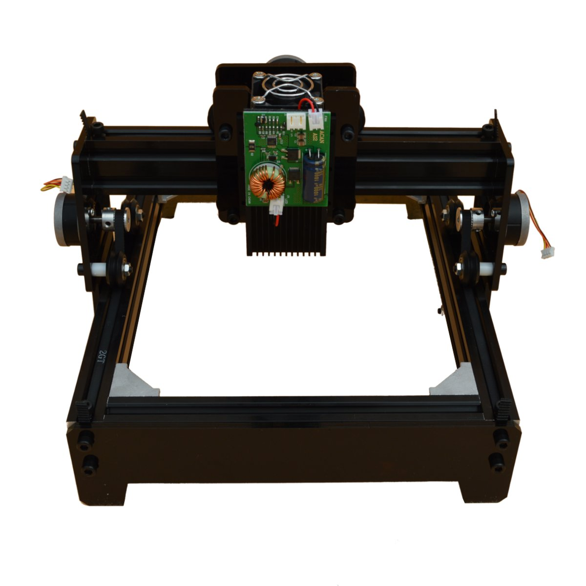 15W DIY Mini <font><b>CNC</b></font> Laser Engraving Machine Laser Engraving Wood Router Metal Marking Engraving <font><b>2018</b></font> Best Advanced Toys New Arrival image