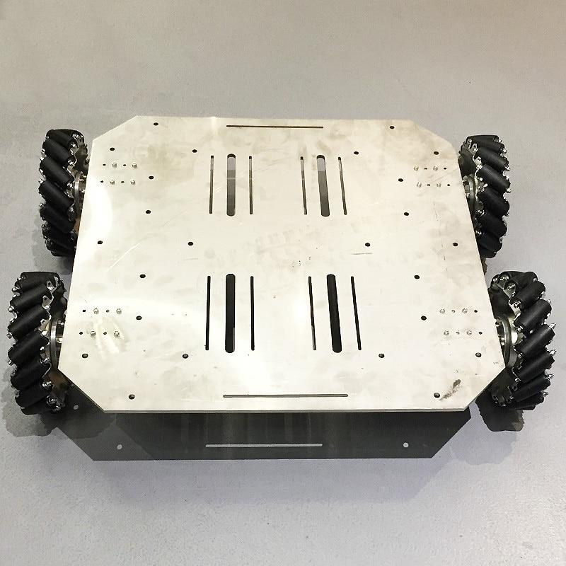 Encoder Motor Wheel-Robot Car-Chassis Arduino-Controller PS2 ROS Mecanum Platform
