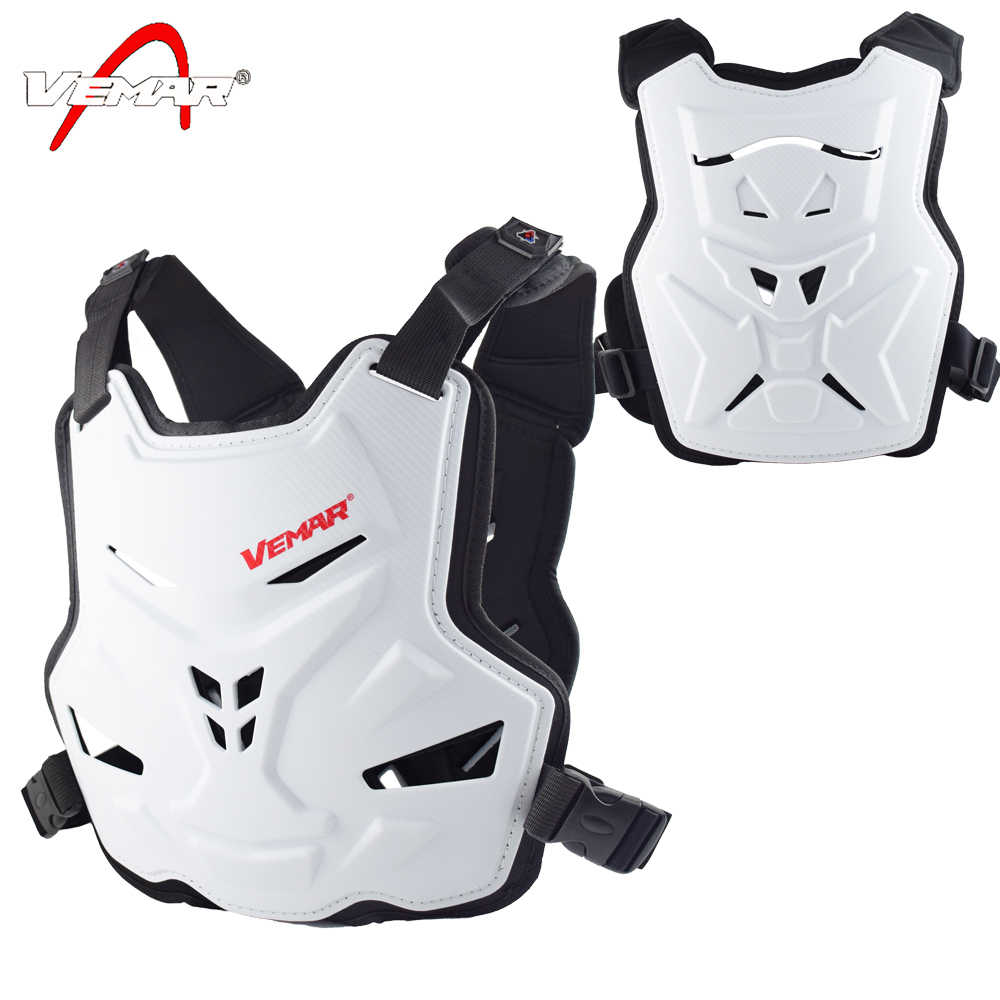 VEMAR Motorcycle Armor Vest Motorcycle Protection Motorbike Chest Back Protector Armor Motocross Racing Vest Protective Gear Orange
