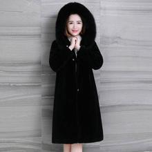 Autum/winter women outerwear hoodies high imitation fur coats shearing fabric overcoat