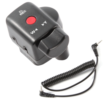 Control remoto de 2,5mm para videocámaras Panasonic Cable de vídeo Jack útil DV manos libres Durable para Sony Cámara controlador de acercamiento