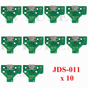 Image 4 - 10 pcs JDS 055 040 030 011 USB Charging Port Socket Board For Sony PlayStation 4 PS4 DS4 Pro Slim Controller Charger PCB Board