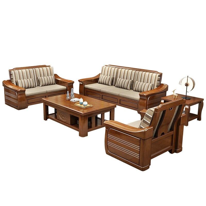 Chinese Style Classical Design Teak Wood 1 2 3 Chairs Living Room Sofa Furniture Sofa Design Sofa Sofasofa Living Aliexpress