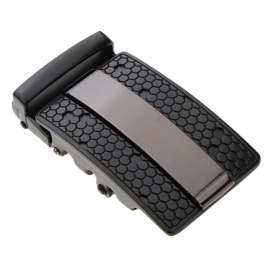 Men's Automatic Ratchet Buckles Mens Fashion Accessory Leather Belt Buckle