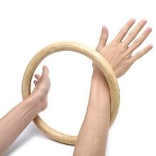 Chinês kung fu asa chun hoop madeira rattan anel pegajoso treinamento de força da mão venda quente