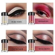8 цветов блестящие тени для век макияж алмазный высокий блеск для губ свободные водонепроницаемые размазывающие светящиеся глаза порошок Косметика