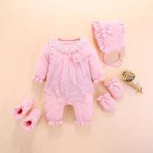 Newborn Baby Clothes Jumpsuit Toodler Baby Girl Rom