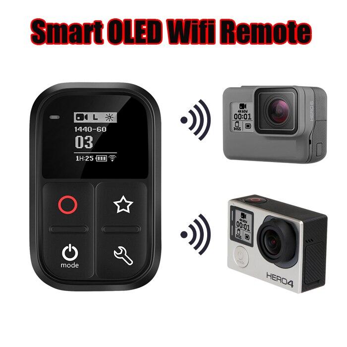 Новый водонепроницаемый беспроводной WiFi умный пульт дистанционного управления для Gopro Hero 8 7 6 5 Black Go pro 4 5 Session 3 3 + Hero Аксессуары для камеры