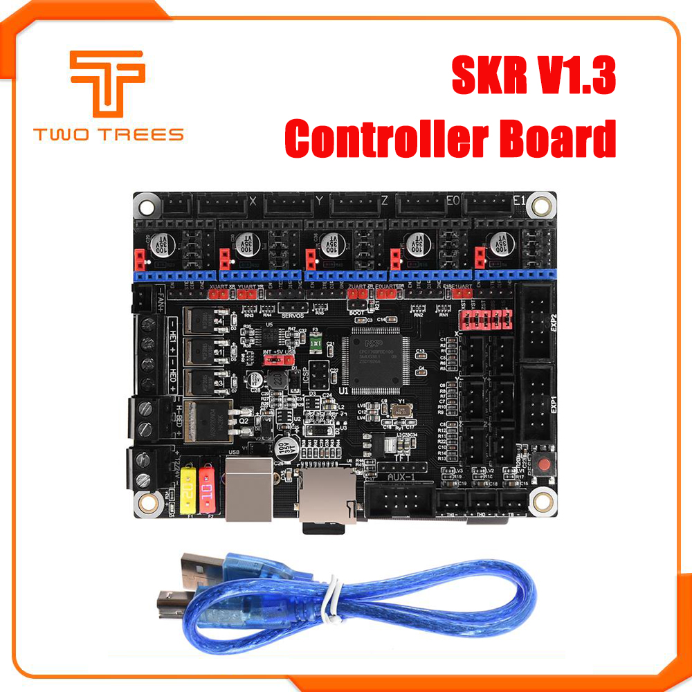 SKR V1.3 Controller Board 32Bit CPU 3D Printer Parts Motherboard TMC2208 TMC2130 MKS GEN L Ramps 1.4 SKR PRO For Ender 3 CR10