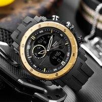 SANDA Neue Mode Sport Digitale Uhr Männer Tauchen Sport LED Uhr für Männer Wasserdichte Genf Militär Uhren Uhren hombre 2020