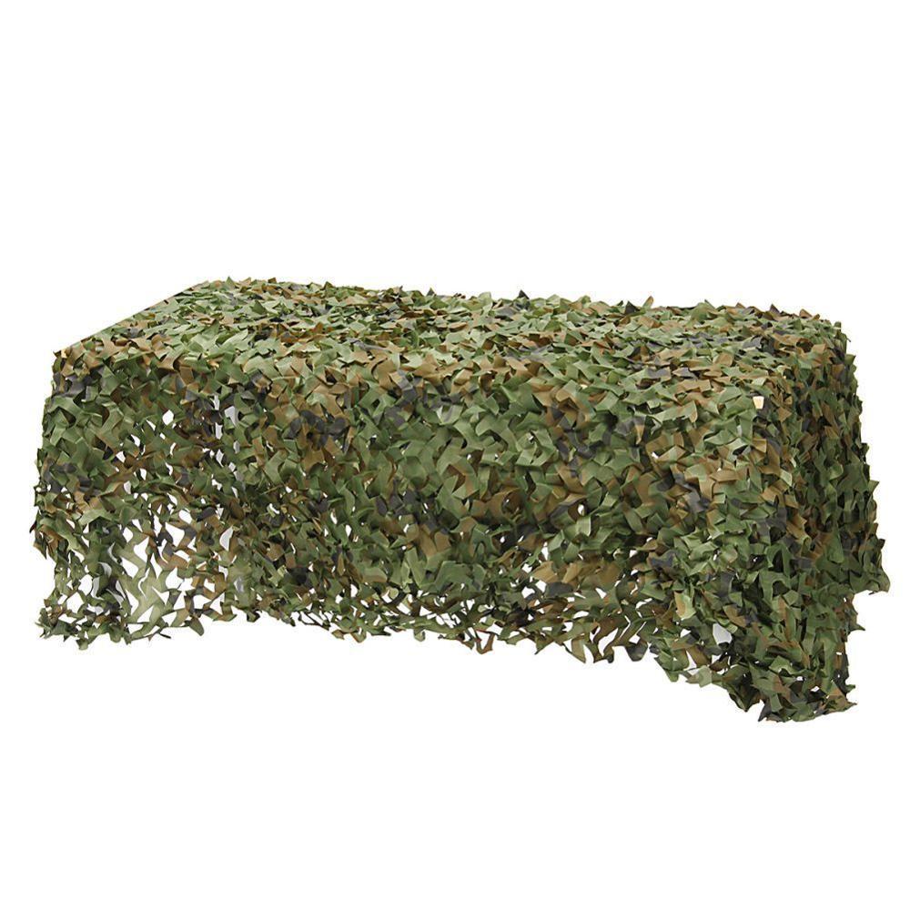 Woodland Camouflage Camo Dell'esercito Netto Nascondere Rete di Campeggio Militare Caccia Riparo di Alta Qualità