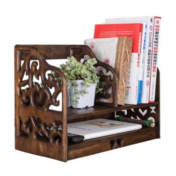 Solid Wood Desktop Restoring Ancient Ways To Receive A Simple Rack Shelf Desk Bookcase Bookshelf Wooden Office Files