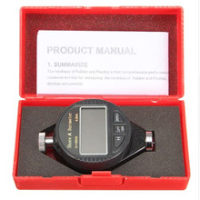 LCD Display 0-100HA Digital Durometer Shore A/C/D Hardness Tester Tire Plastic Rubber Test Tools Durometer (No Battery)