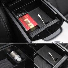 New For Tesla Model 3 BlueStar 2017 2018 2019 Accessories Car Central Armrest Storage Box Auto Container Glove Organizer Case