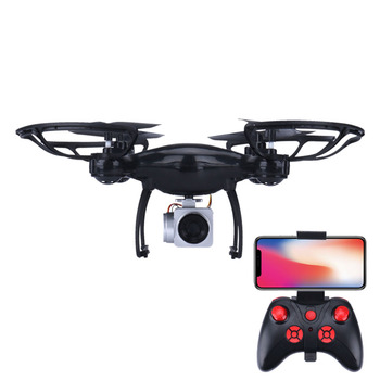 цена Large Drone With Camera Hd 0.3mp 2mp Quad Copter Minidrone Rc Selfie Drone Remote Control Helicopter Kids Drone Waterproof Red онлайн в 2017 году