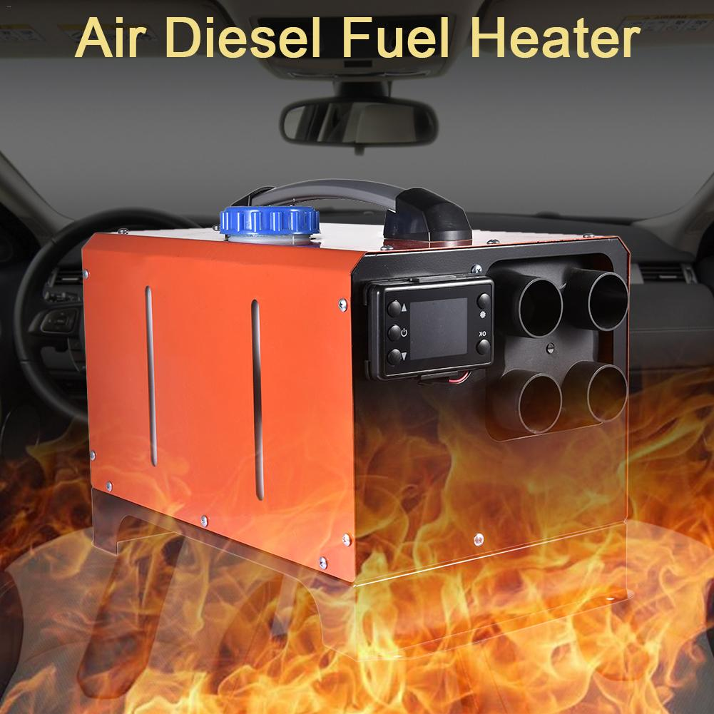 Car Heater 5KW 12V24V Air Diesels Heater Parking Heater With LCD Monitor Remote Control For RV Motorhome Trailer Trucks Boats