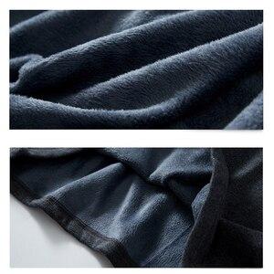 Image 5 - Camisa polo casual quente térmica camisa polo de manga longa masculina 2020 novo inverno algodão bordado plus size t superior 5xl