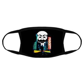 2020 Fashion Mr Robot Dust Mask Men Cotton Fsociety Dust Mask Face Mask Hacker Face Mask Harajuku Gift K000060 недорого