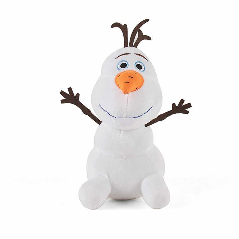 דיסני קפוא 2 אנה אלזה בפלאש צעצוע ממולא בובת חדש אש לטאה חום אש גמדי שלג אולף נסיכת קטיפה עבור ילד צ 'יל